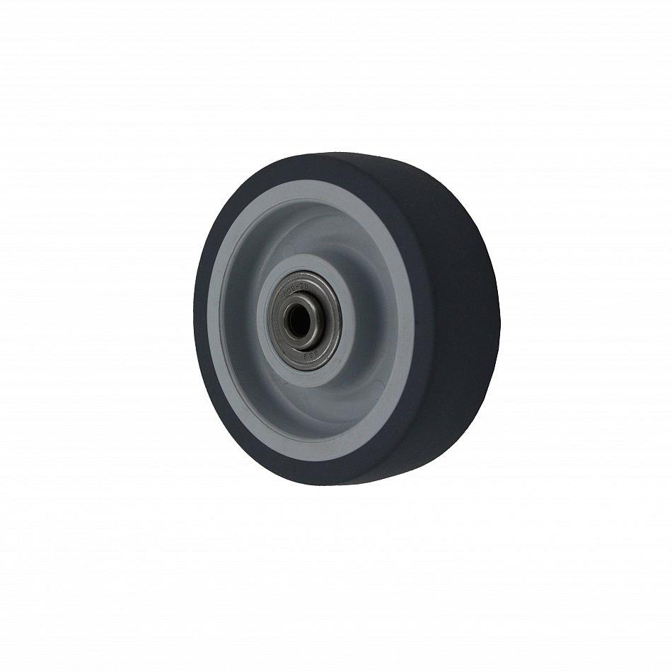 TRANSPORTROLLEN Apparaterollen Möbelrollen Gummi Rad 50 75 mm LENKROLLEN Rolle