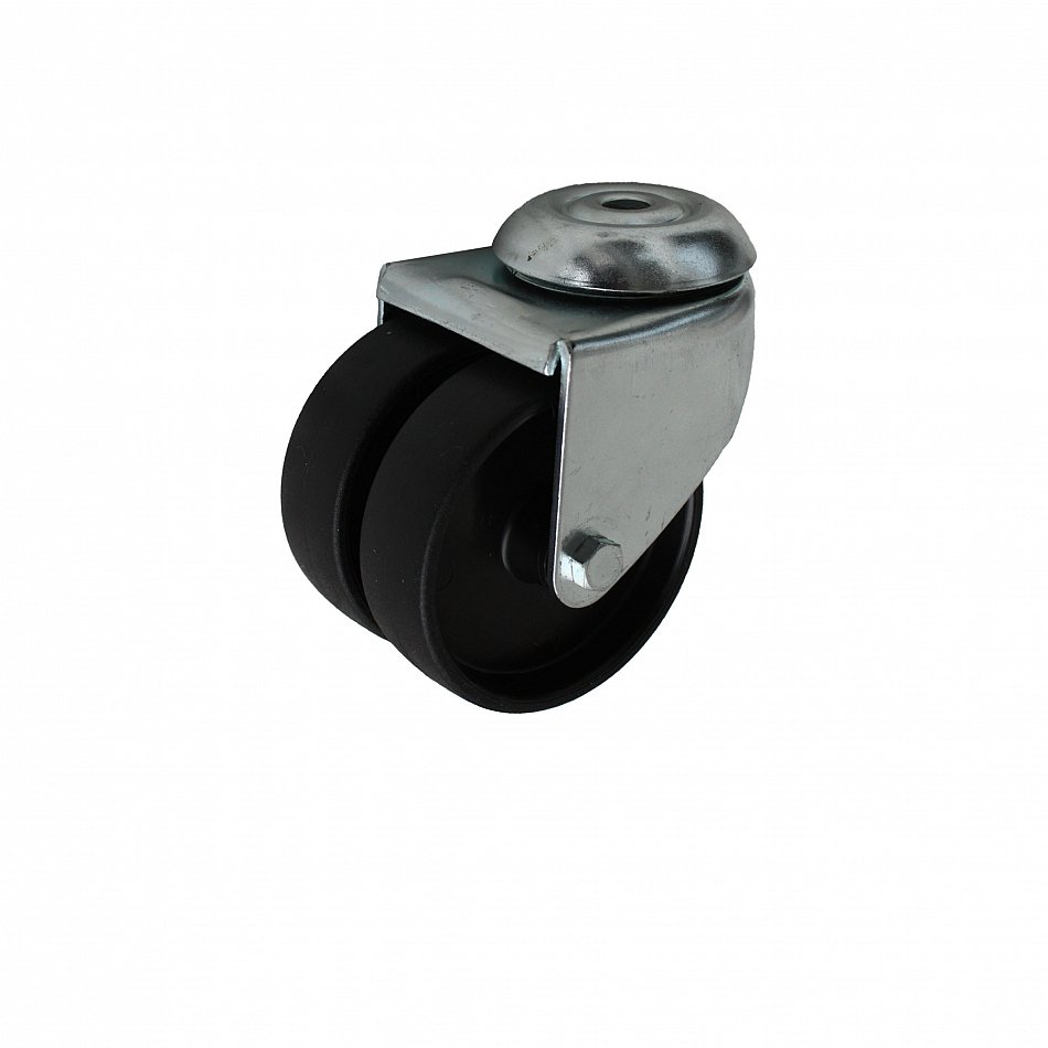 50 mm apparaterolle doppelrolle lenkrollen transportrollen doppelt m belrollen ebay. Black Bedroom Furniture Sets. Home Design Ideas