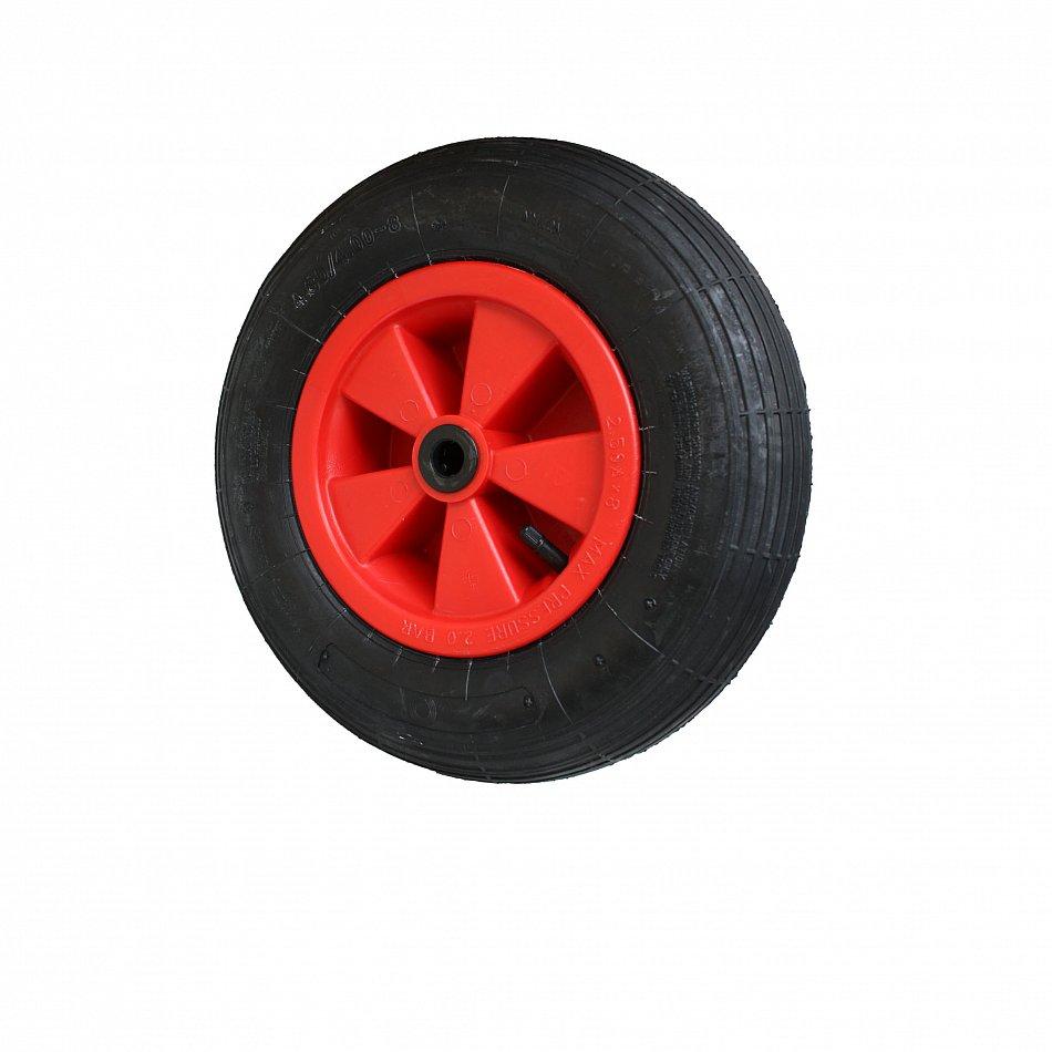 Schlauch 400 x 100 4.80//4.00-8 Rille 2 Stück Schubkarren Reifen