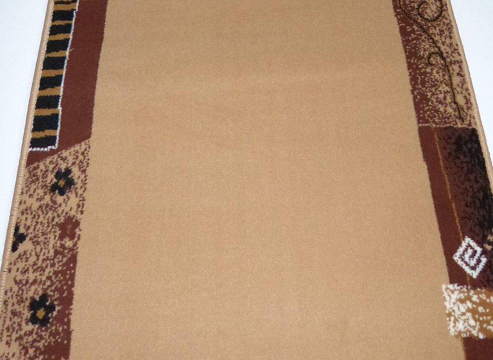 teppichl ufer nach ma b 100 cm beige meterware k chenl ufer bettumrandung ebay. Black Bedroom Furniture Sets. Home Design Ideas