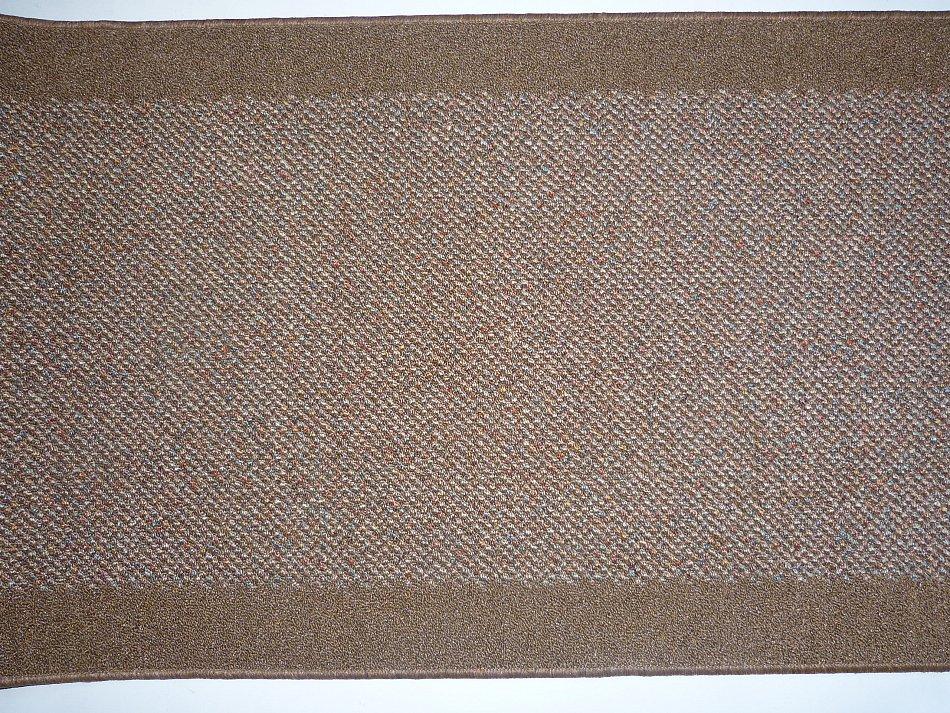 meterware teppichl ufer nach ma b 80 cm braun stufenmatten rutschfest waschbar ebay. Black Bedroom Furniture Sets. Home Design Ideas