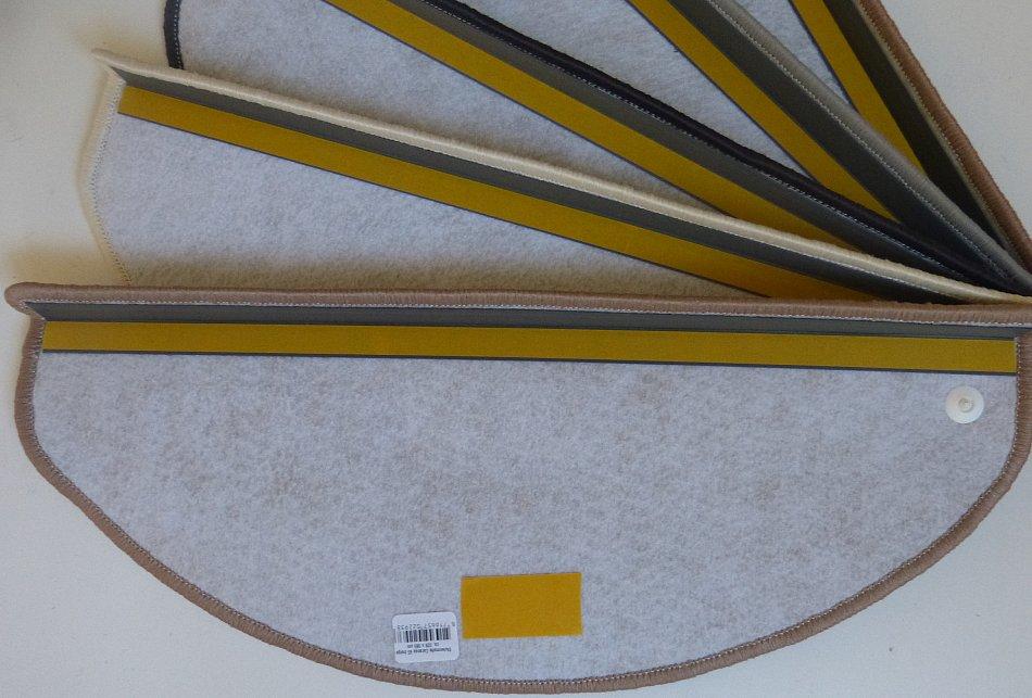stufenmatten creme 15 er set treppenmatten ca 65 cm x 23 50 cm x 4 cm l ufer ebay. Black Bedroom Furniture Sets. Home Design Ideas