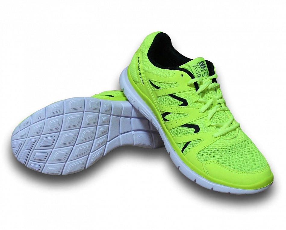 Original Shoes Karrimor Duma Herren Laufschuhe Schwarz/Gelb Fitness Jogging Sportschuhe Turnschuhe