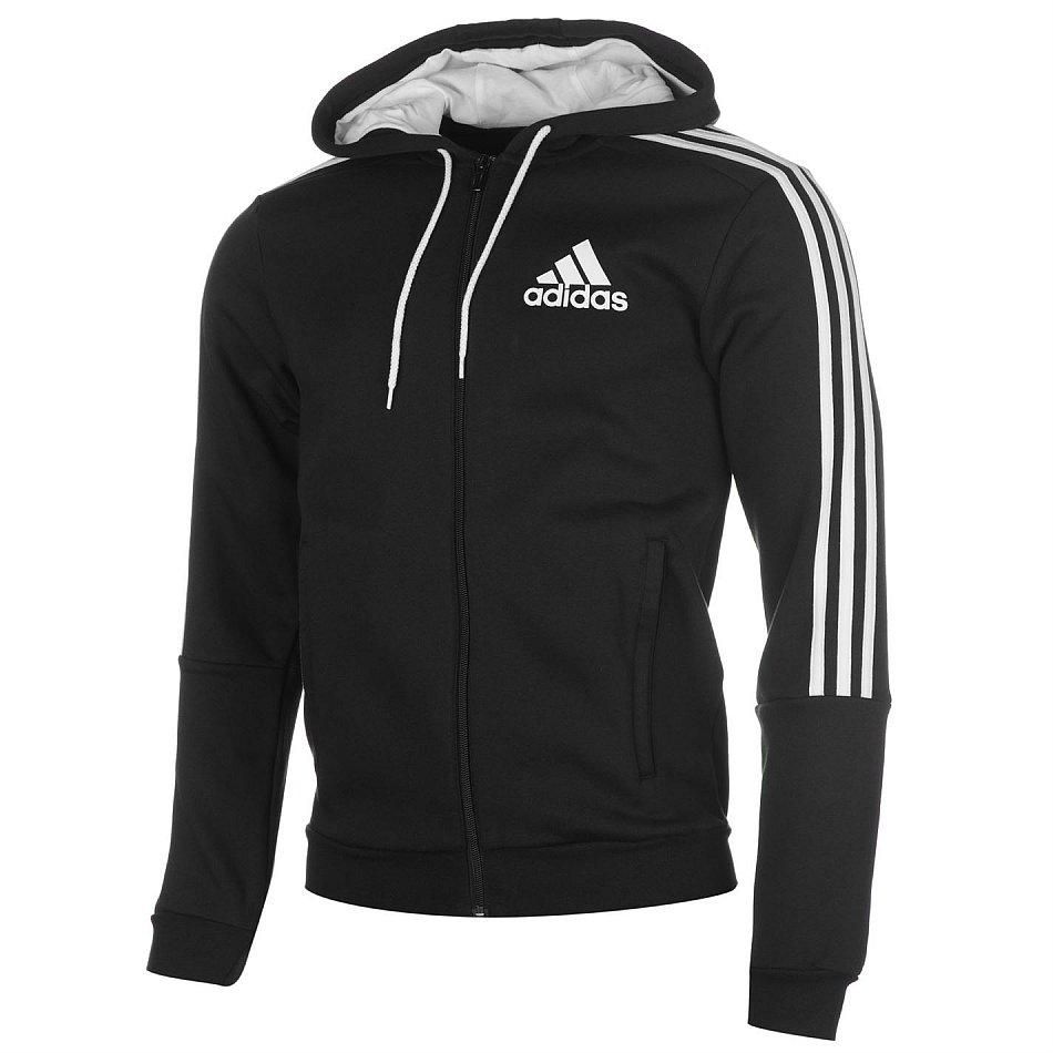Details zu adidas Kapuzenjacke Jacke Hoody Hoodie S M L XL XXL 3XL schwarzweiß NEU