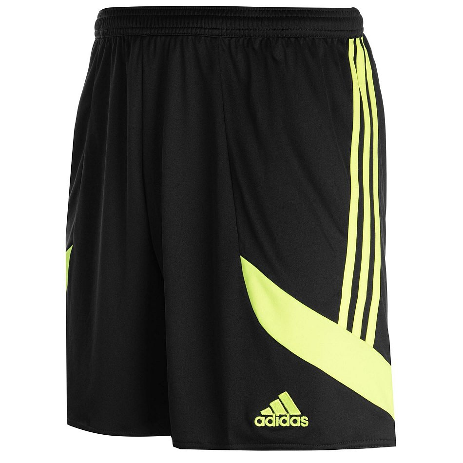 7ccdfc0f39fae7 ADIDAS Shorts NOVA 14 Shorts kurze Hose Sporthose schwarz neongelb ...