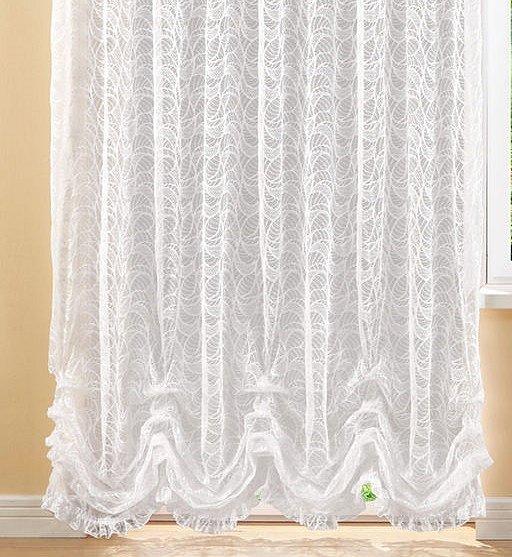 amy fertiggardinen stores raffgardinen blumenfenster wei vorhang seitenschal ebay. Black Bedroom Furniture Sets. Home Design Ideas