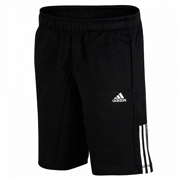 adidas trainingshose bermuda hose kurz sporthose schwarz. Black Bedroom Furniture Sets. Home Design Ideas