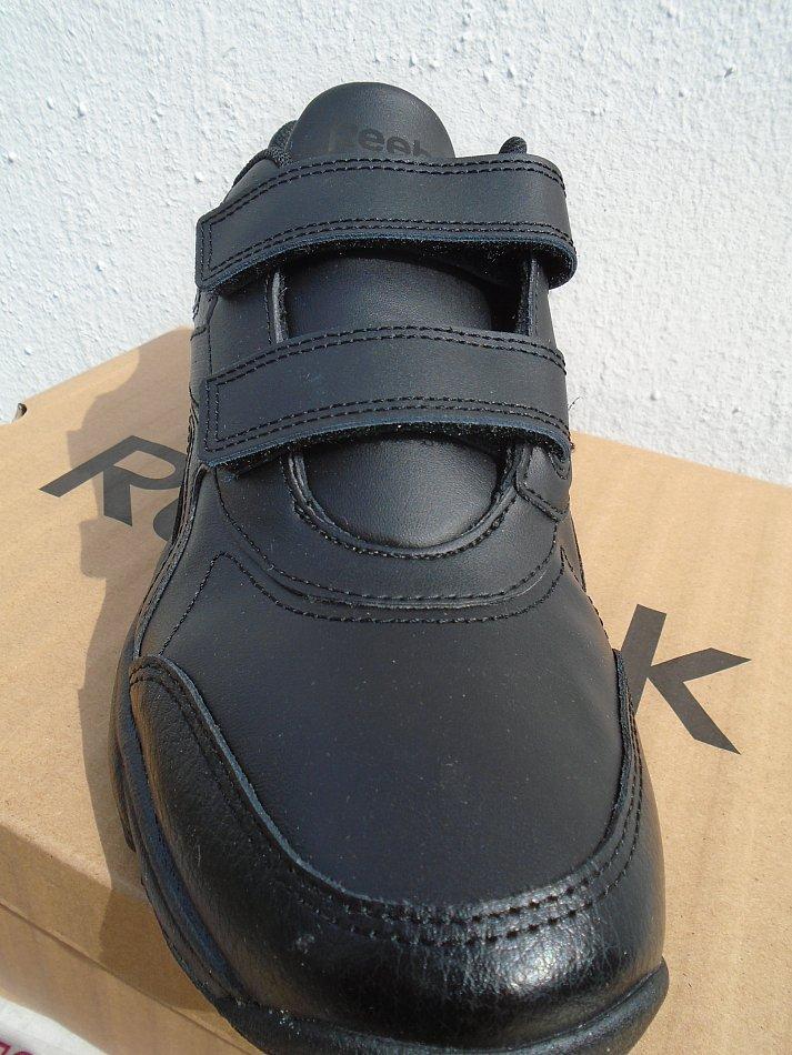 Reebok Herren Turnschuhe mit Klettverschluß Work N Cushion schwarz Leder 38 Neu | eBay