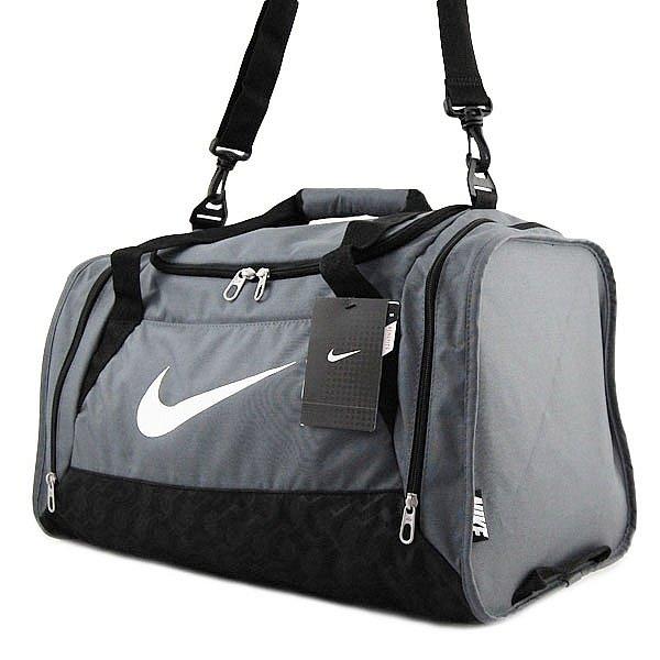 832e6e8c48eaf NIKE Sporttasche in grau Größe ca 51cm Duffel Fitness Tasche Bag ...