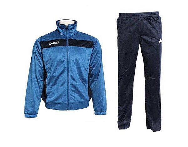 Details zu Asics Herren Trainingsanzug Jogginganzug Sport Freizeit Anzug Blau L XL XXL NEU