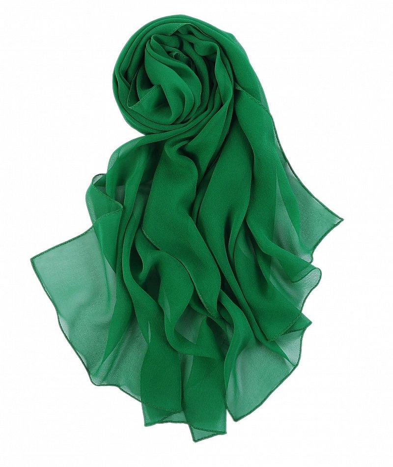 2 tailles Soie umschlagtuch transparent silk scarf transparent étole 3 couleurs