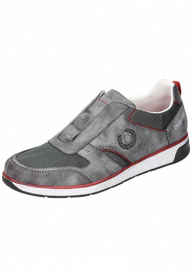 bugatti sneaker slipper halbschuhe herren schuhe k1465 6n6 160 grau ebay. Black Bedroom Furniture Sets. Home Design Ideas