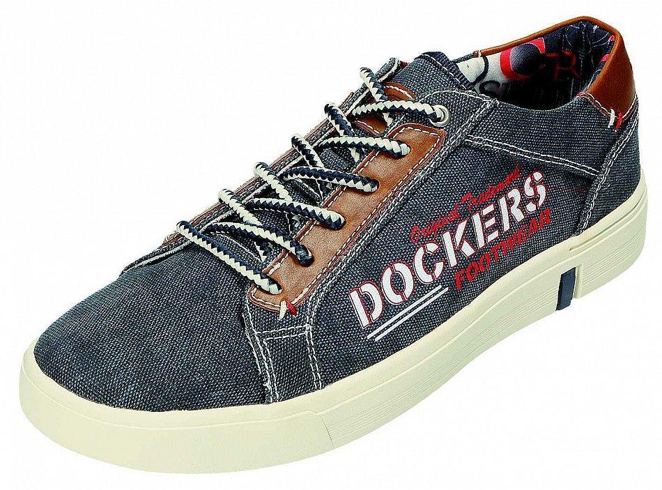 Dockers by Gerli Herren Schn rschuhe Sneaker blau 40HN006 710660 Gr.40 47 New