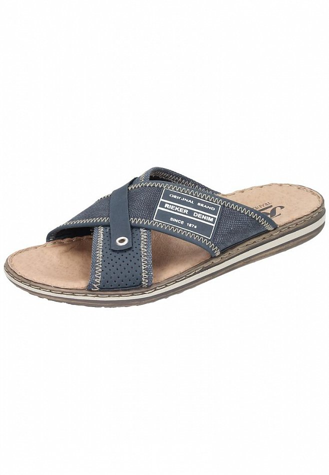 Rieker Schuhe Pantolette 21064-14 NEU blau (blau) NEU 21064-14 6f8e01