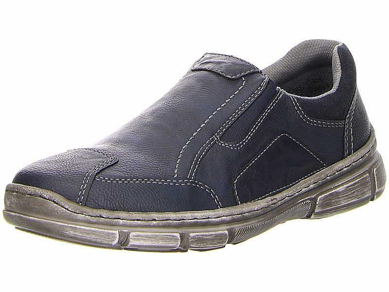 1402051e8956e0 Rieker Slipper Halbschuhe Sneaker blau Herren Schuhe 13761-15 Neu32 ...