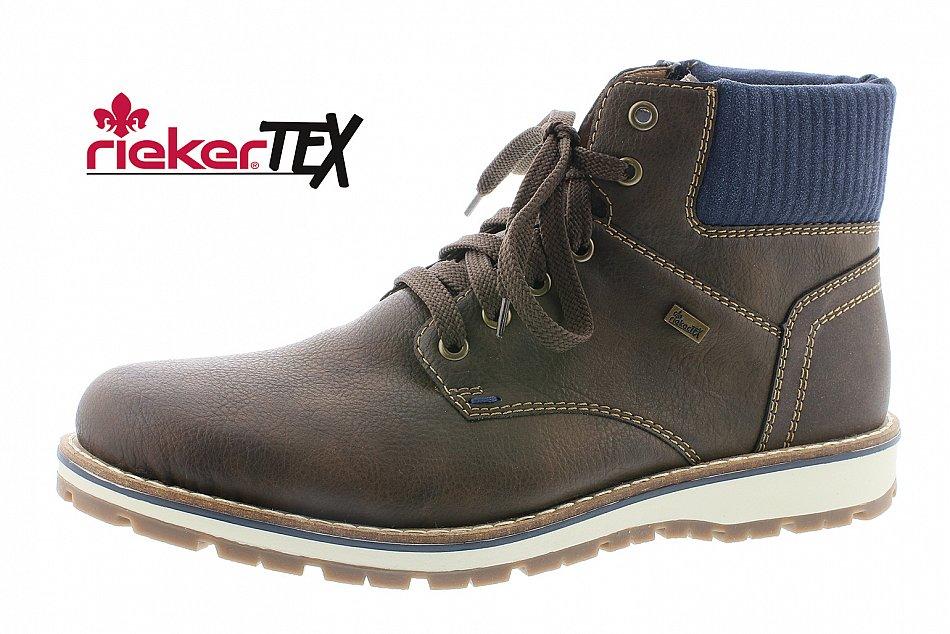 Rieker Herren Stiefel Stiefeletten Boots braun 38432-26 Neu2   eBay 155a2f85f7