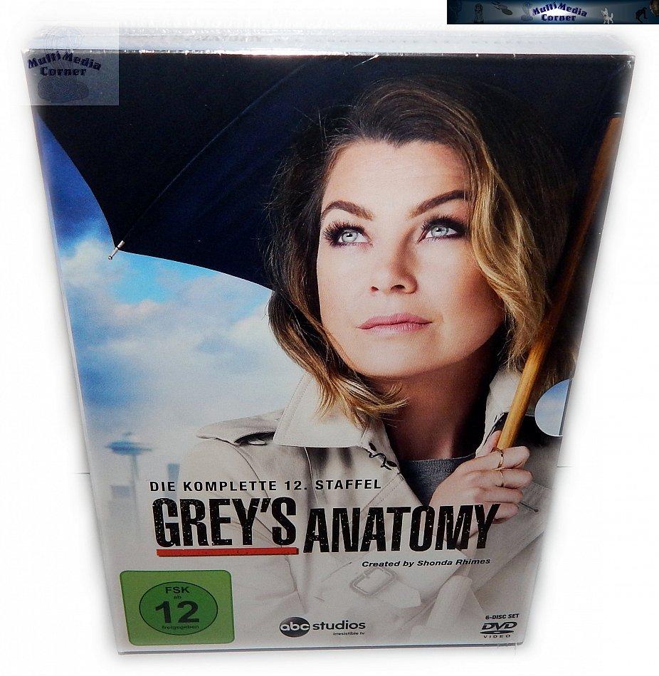 Grey´s Anatomy Die komplette Staffel/Season 12 [DVD]