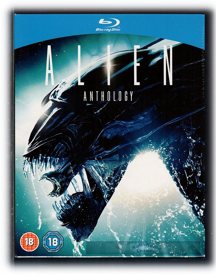 Alien Anthology Edition 4-Disc [Blu-Ray]