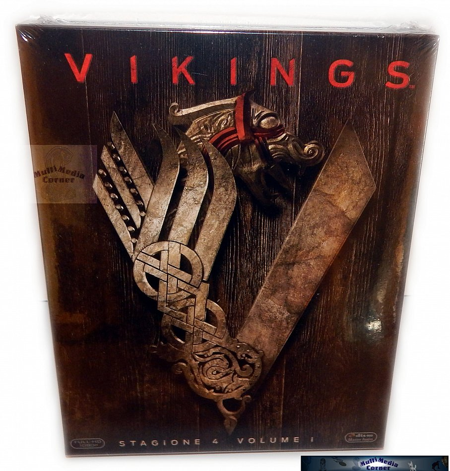 Vikings Staffel/Season 4 - Volume 1 [Blu-Ray] 3-Disc