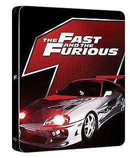 The Fast and the Furious [Blu-Ray] limited Steelbook