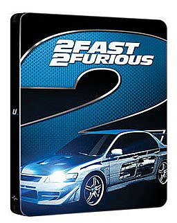 2 Fast 2 Furious limited Steelbook [Blu-Ray]