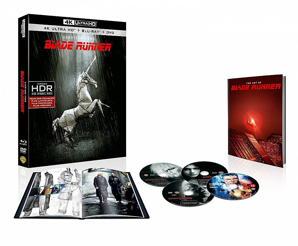 Blade Runner - Final Cut 4K UHD 35th Anniversary limited Edition [Blu-Ray 4K UHD + Blu-Ray] 4-Disc