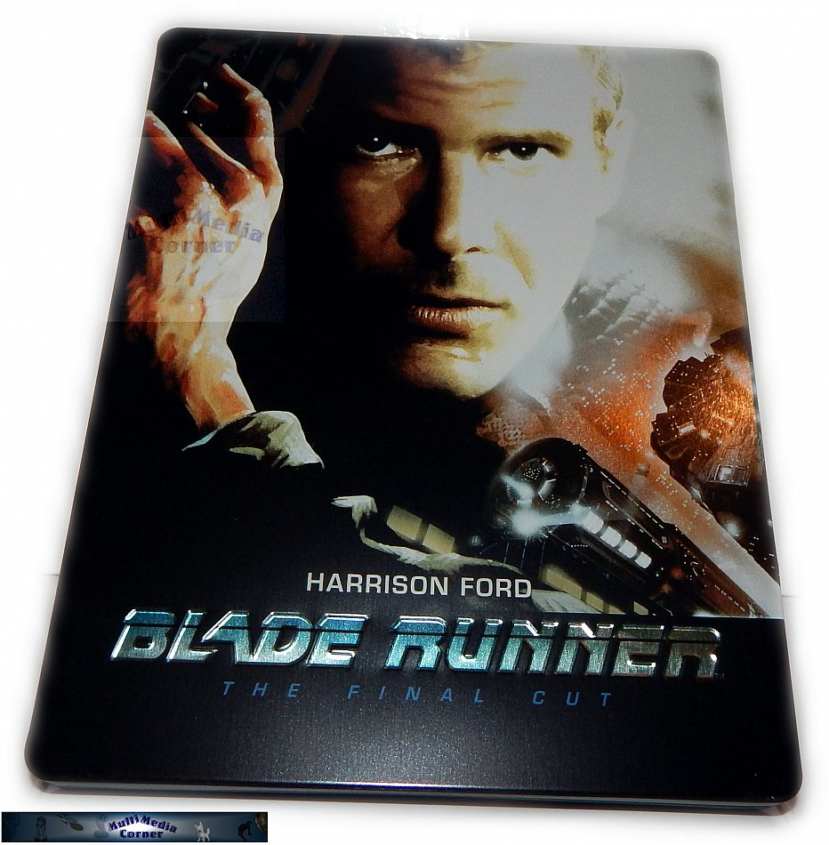 Blade Runner - Final Cut [Blu-Ray] 2-Disc limited Steelbook (geprägt) neu+ovp!