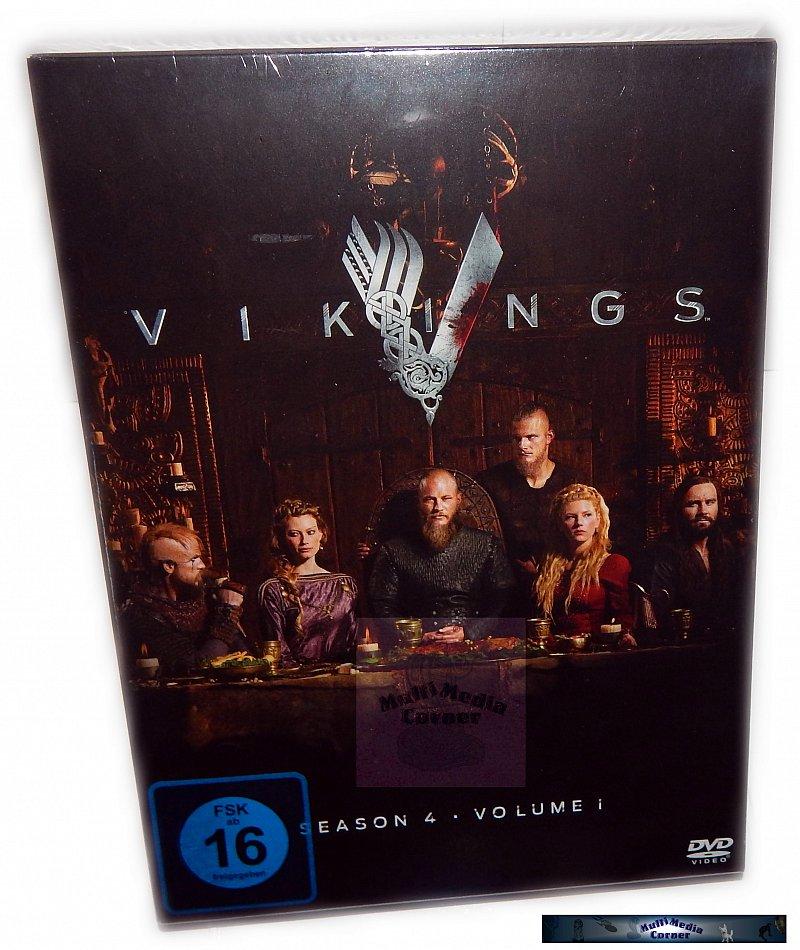 Vikings Staffel/Season 4 - Volume 1 [DVD] 3-Disc