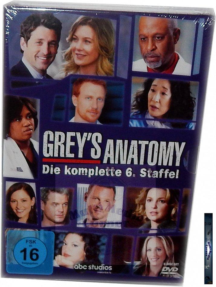 Greys Anatomy 6 Staffel