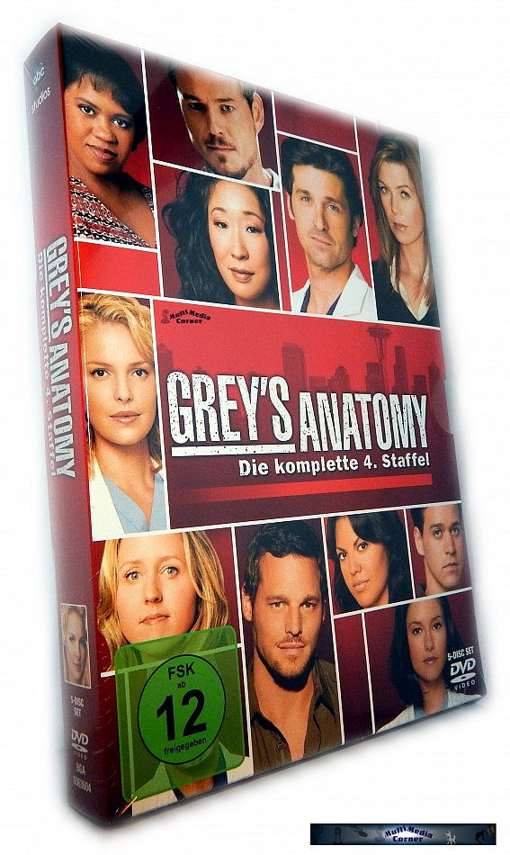 GreyS Anatomy Komplette Staffeln