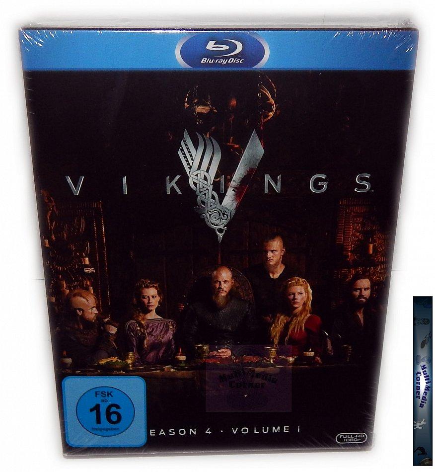 Vikings - Staffel/Season 4 - Volume 1 (4.1) [Blu-Ray] Digi-Pack
