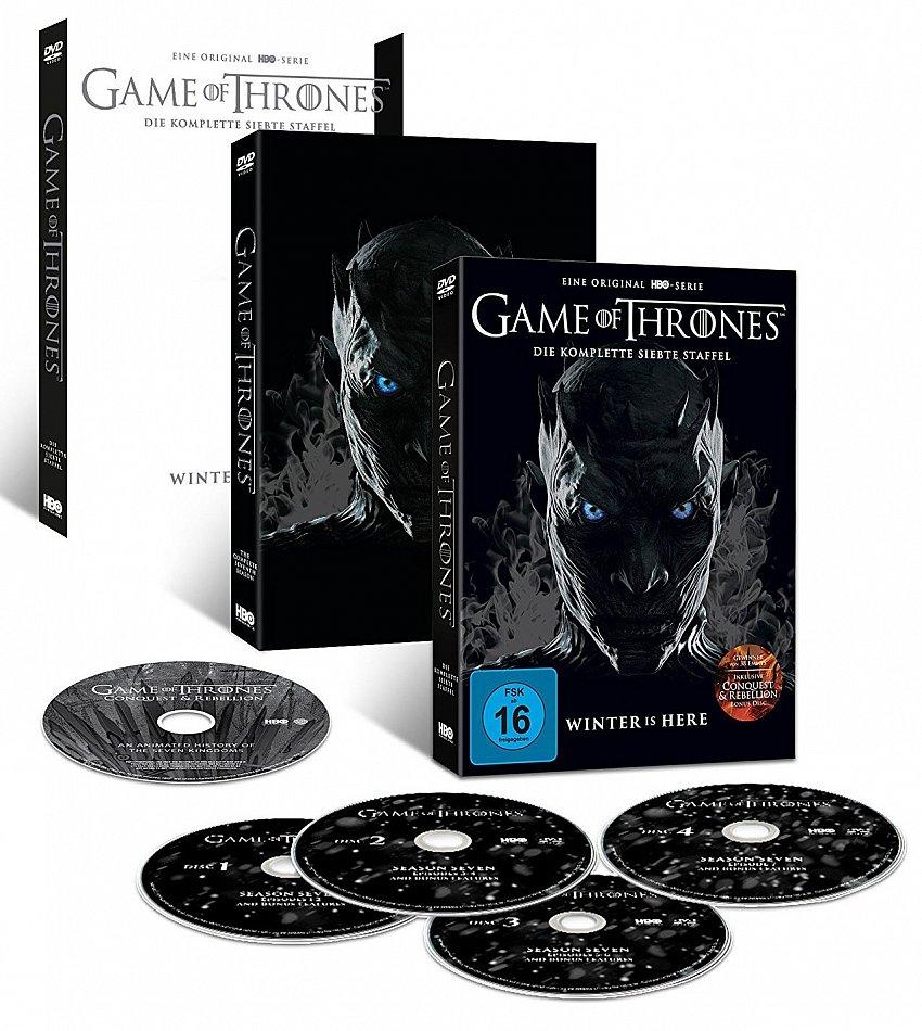 Game of Thrones Die komplette Staffel/Season 7 [DVD] Erstauflage im Slip Case