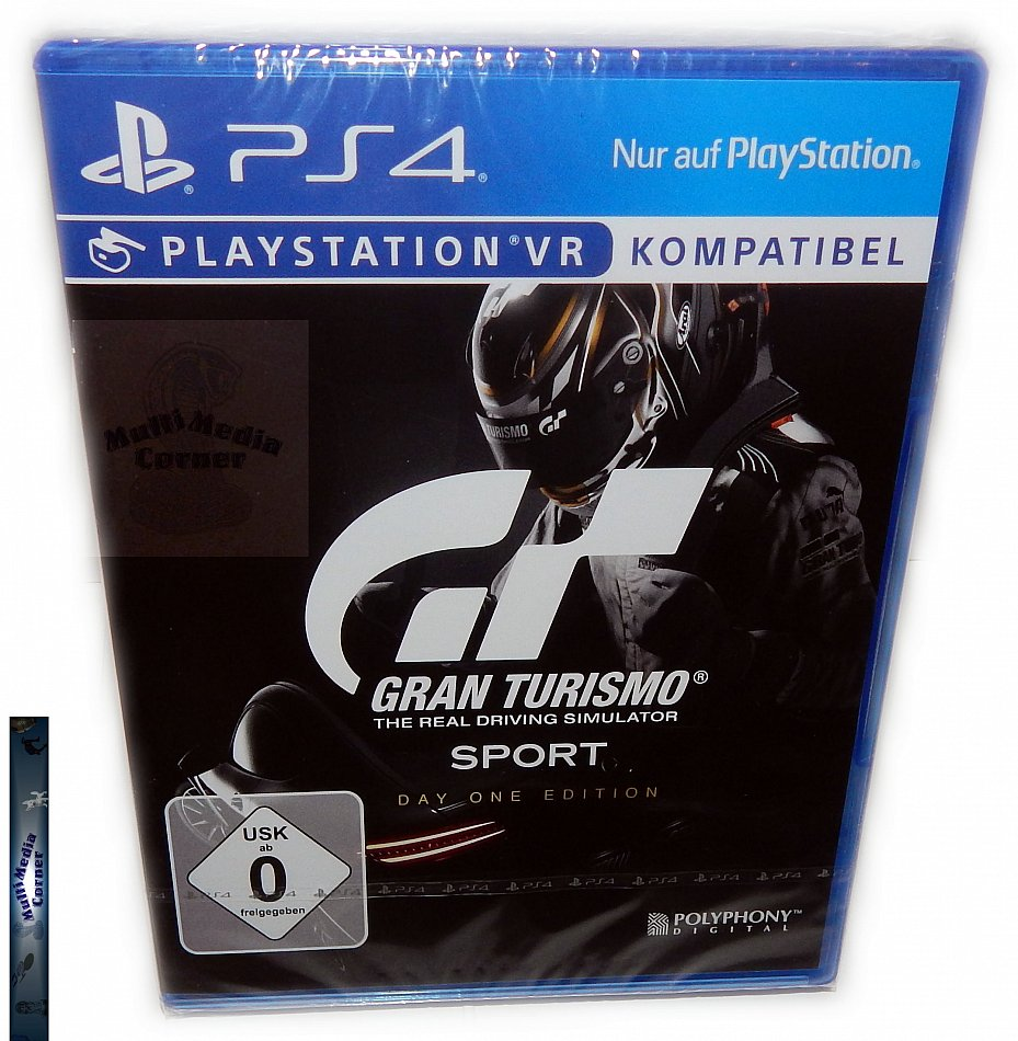 Gran Turismo Sport Day One Edition [Playstation 4]