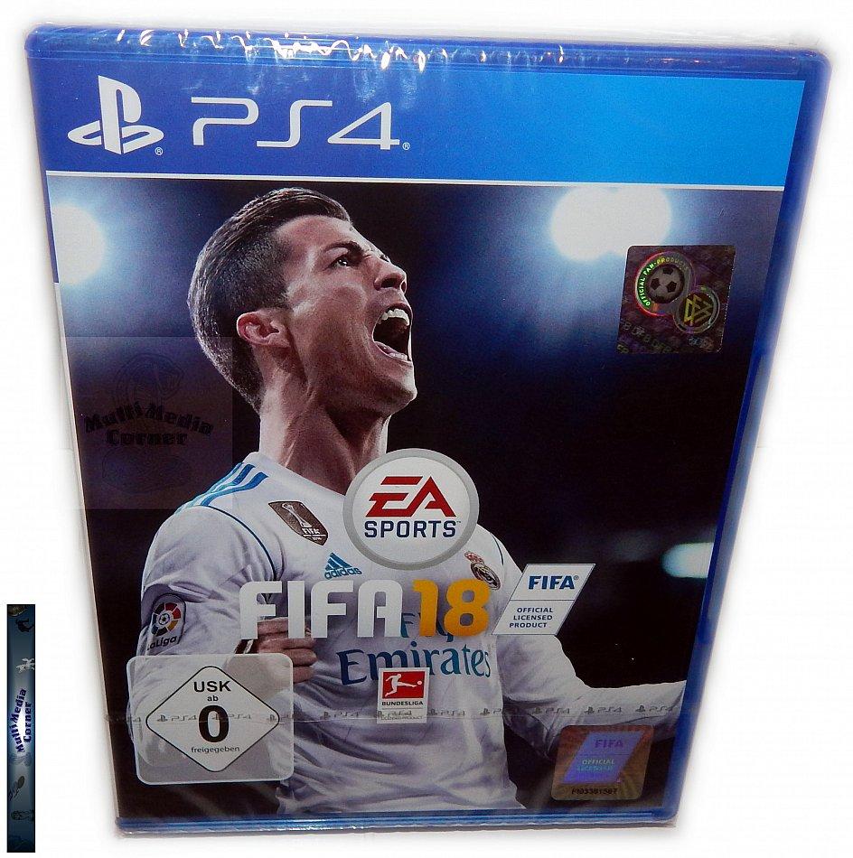 FIFA 18 EA Sports [Playstation 4]