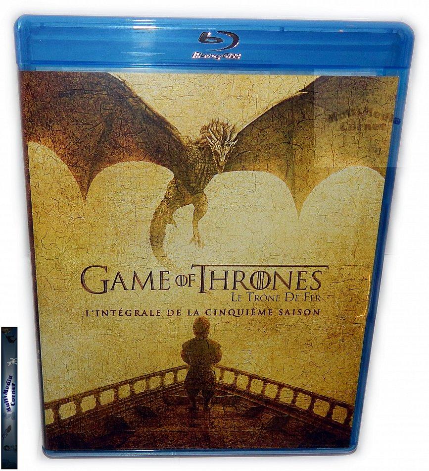 Game of Thrones Die komplette Staffel/Season 5 [Blu-Ray]