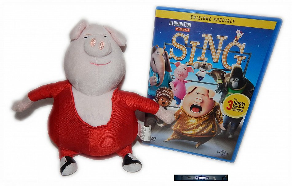 """Sing limited Edition (inkl. """"Gunther"""" Stofftier) [DVD]"""