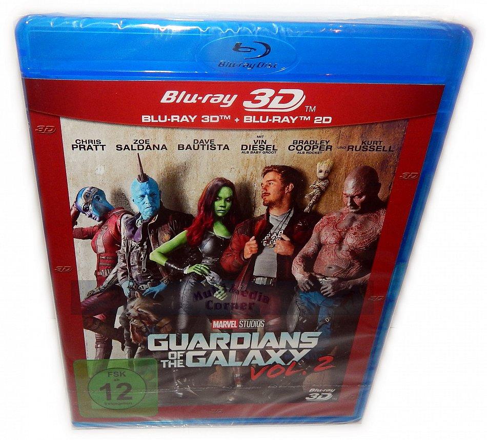 Guardians of the Galaxy Vol. 2 3D (+2D) Blu-Ray