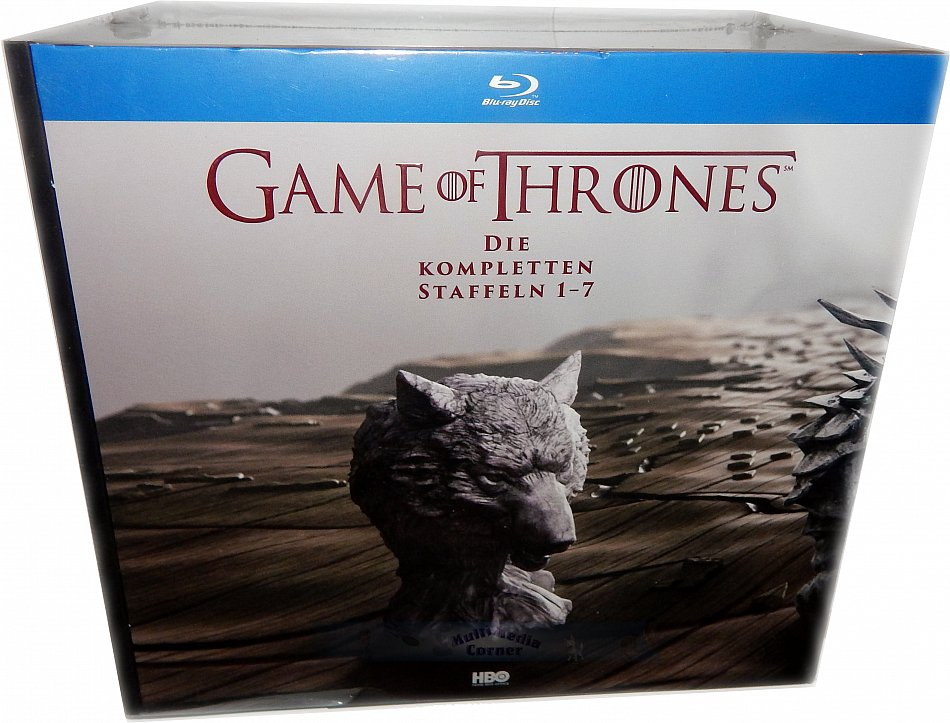 Game of Thrones Die komplette Staffel/Season 1-7 (35-Disc Digi-Pak) inkl. Fotobuch + exklusive Bonus-Discs [Blu-Ray]
