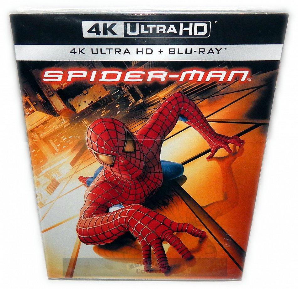 Spider-Man [4K UHD + Blu-Ray]