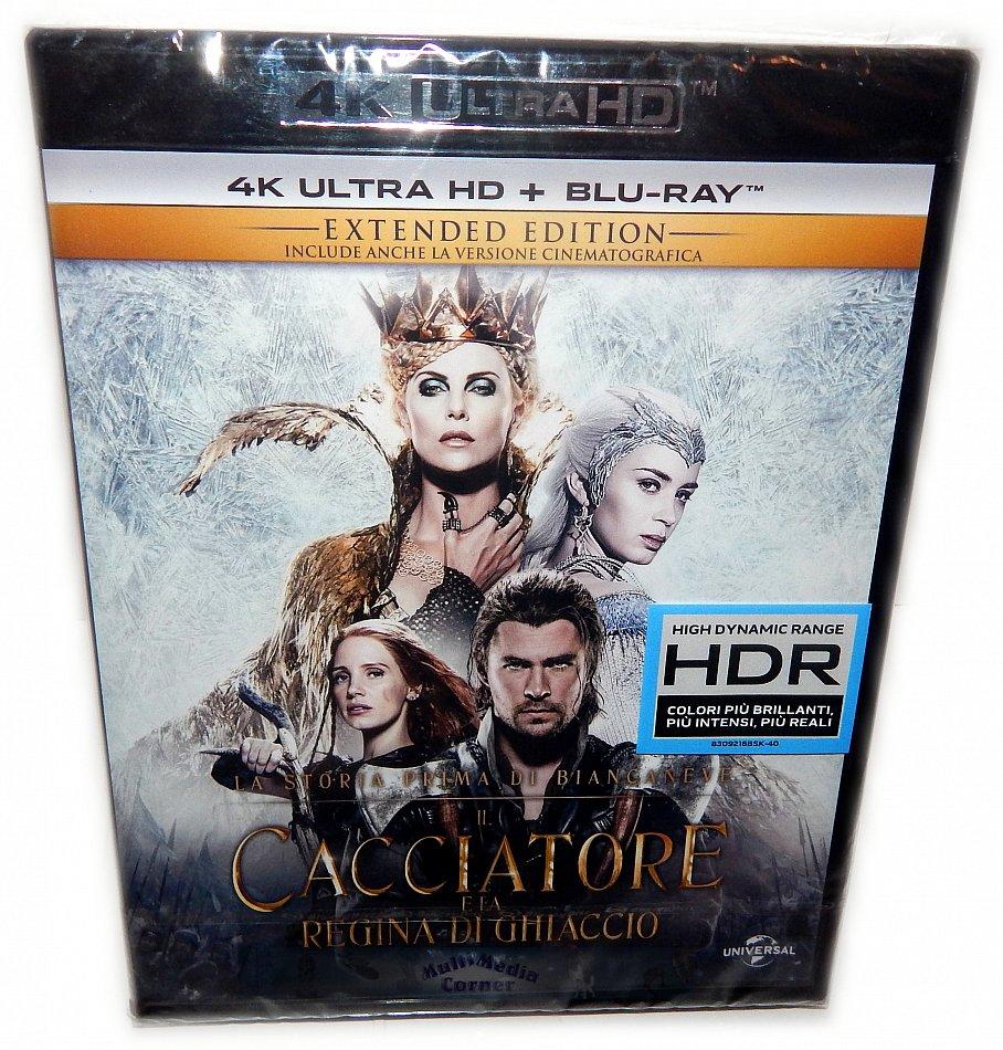 The Huntsman & the Ice Queen [4K UHD + Blu-Ray]