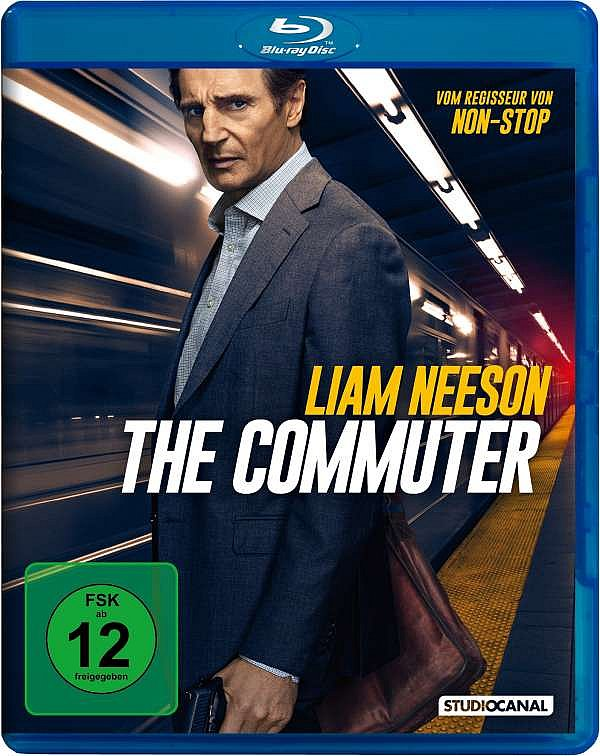 The Commuter [Blu-Ray] Liam Neeson