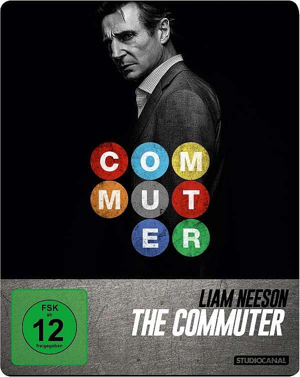 The Commuter limited Steelbook [Blu-Ray] Liam Neeson