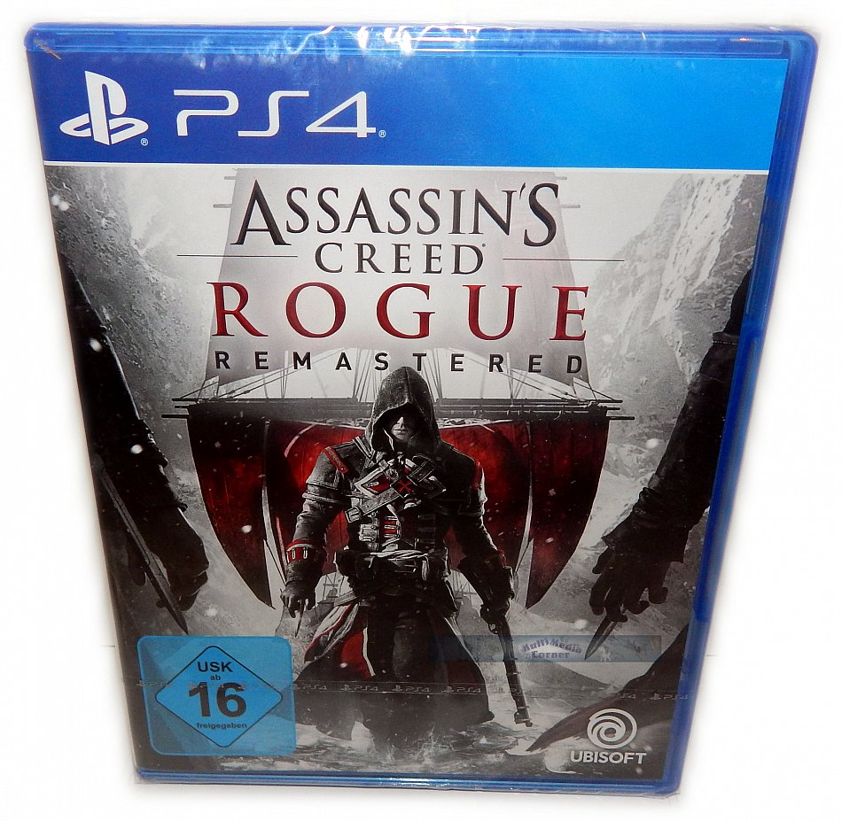 Assassins Creed - Rogue Remastered UBISOFT [Playstation 4]