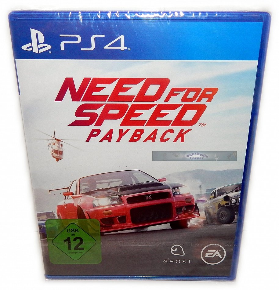 Need for Speed Payback Electronic Arts [Playstation 4]