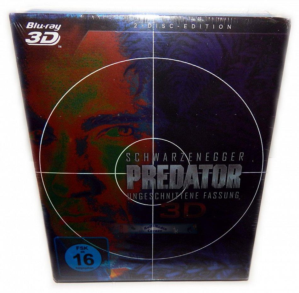 Predator 3D (+2D) 2-Disc im Glanzschuber [Blu-Ray]