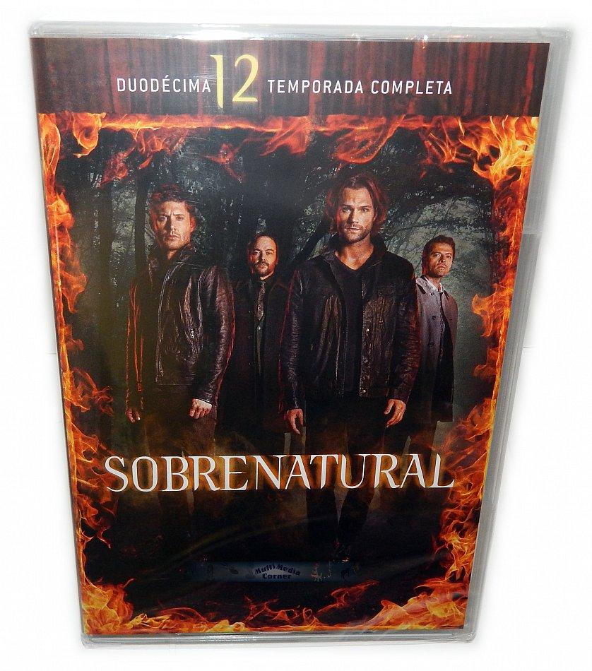 Supernatural Die komplette Staffel/Season 12 [DVD] 6-Disc