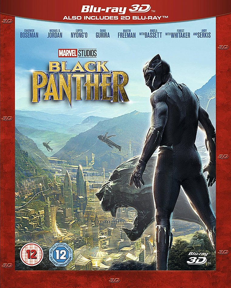 Black Panther 3D (+2D) [Blu-Ray] Marvel Studios