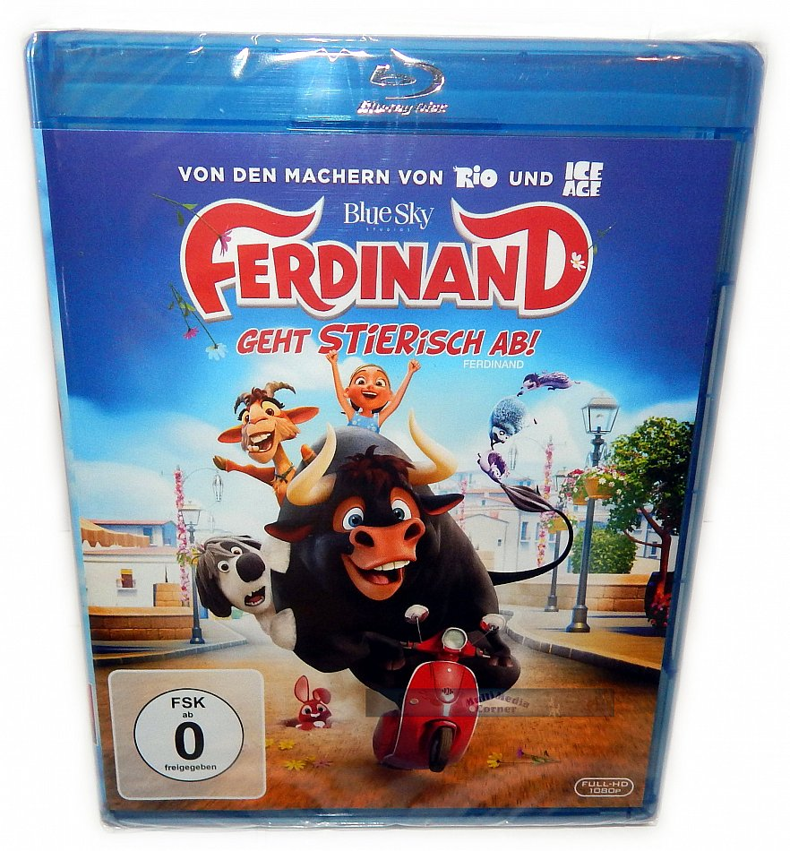 Ferdinand [Blu-Ray] inkl. Wendecover