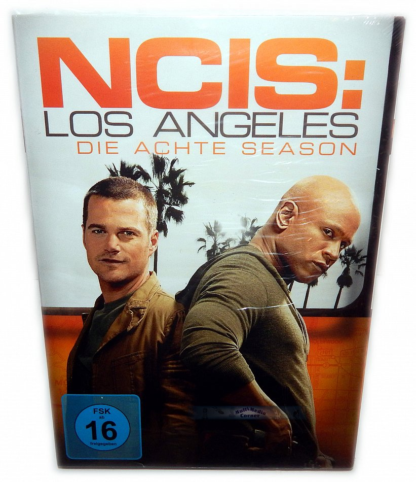 NCIS Los Angeles Die komplette Staffel/Season 8 [DVD]