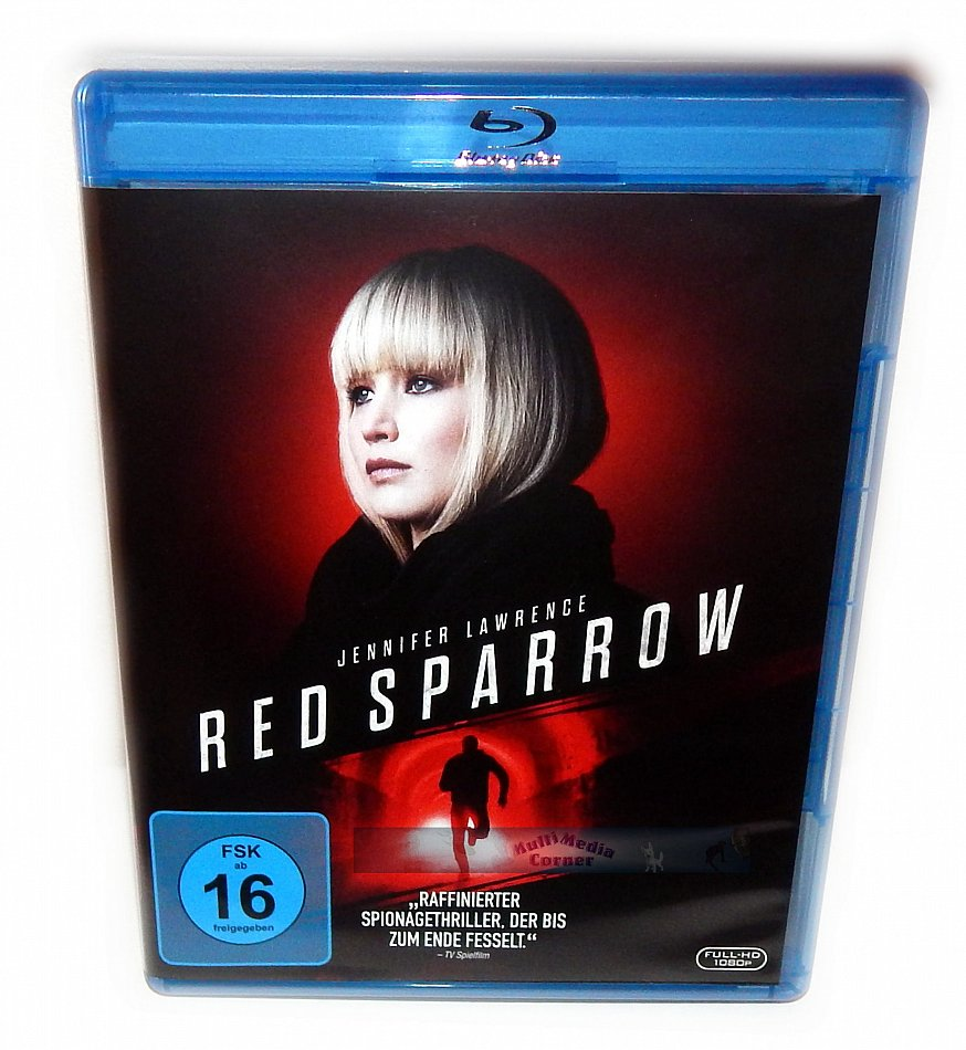 Red Sparrow [Blu-Ray] Jennifer Lawrence